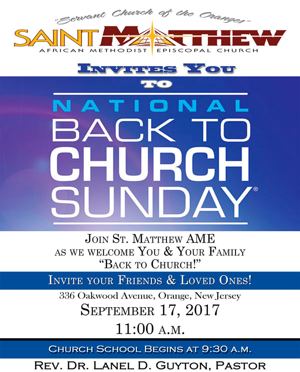 Saint Matthew Past Event