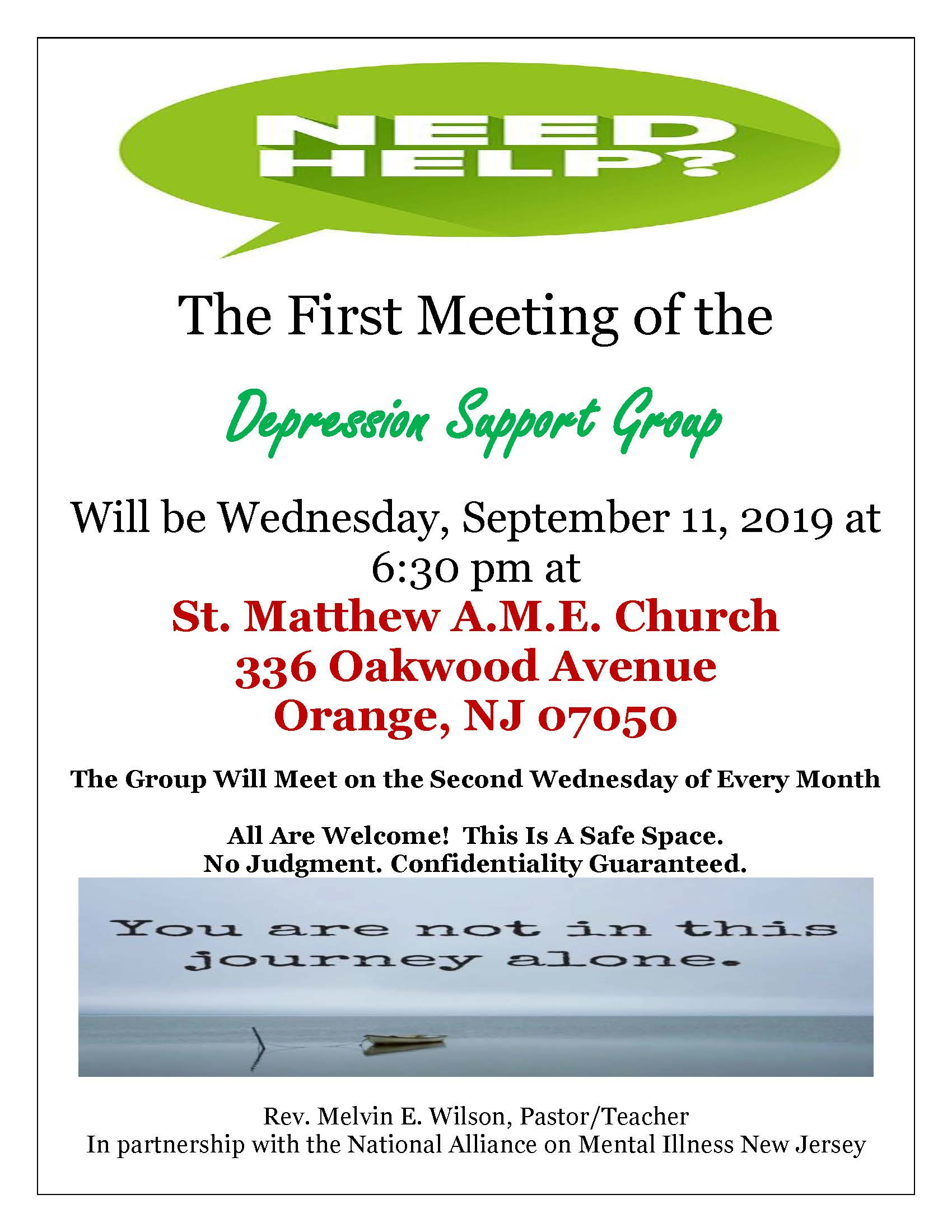 Saint Matthew Upcoming Special Event